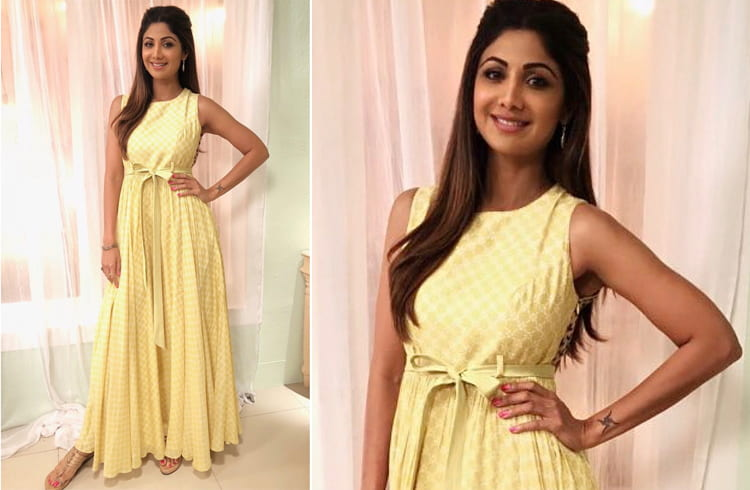 Shilpa Shetty in Anushree label