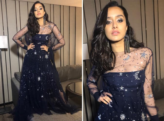Shraddha Kapoor in Reem Acra Dress