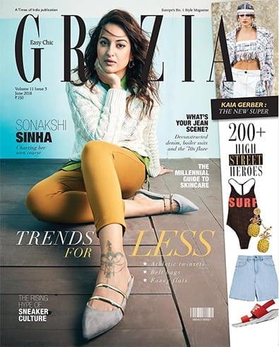 Sonakshi Sinha On Grazia June 2018