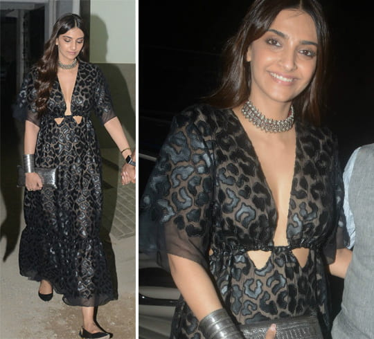 Sonam Kapoor in Stella Mccartney maxi