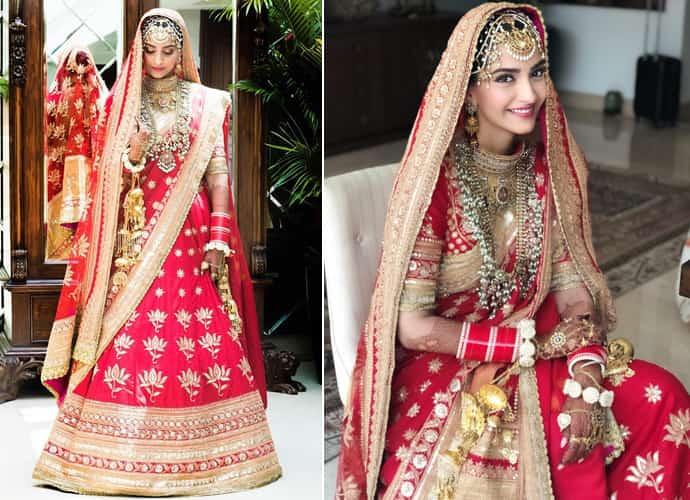 Sonam kapoor Wedding Lehenga