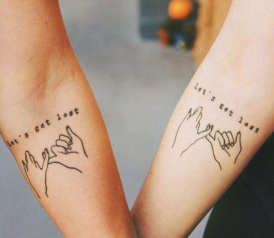 Twinning Tattoos