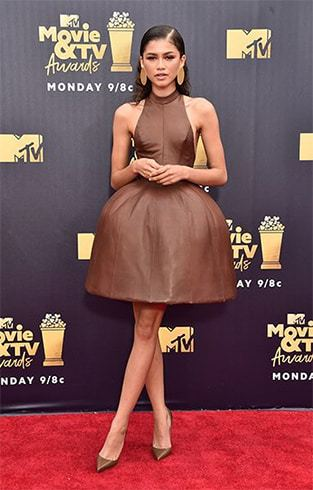Zendaya at MTV Movie and TV Awards 2018