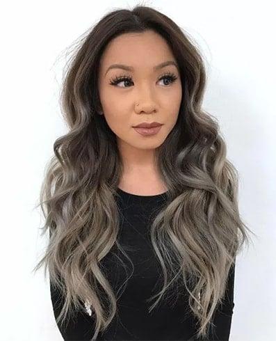Asian Pastel hair