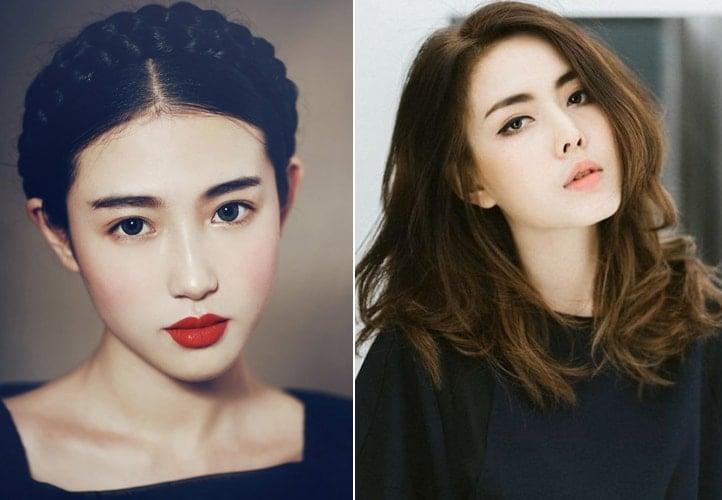 Asian hair makeover
