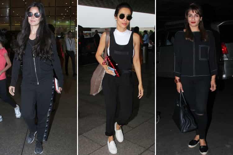 Bollywood Celebs Aitport Fashion