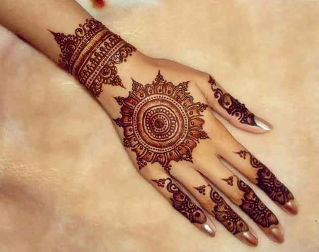 Chakra Mehndi Designs