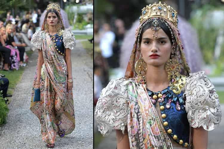 Dipti Sharma Wearing A Sari