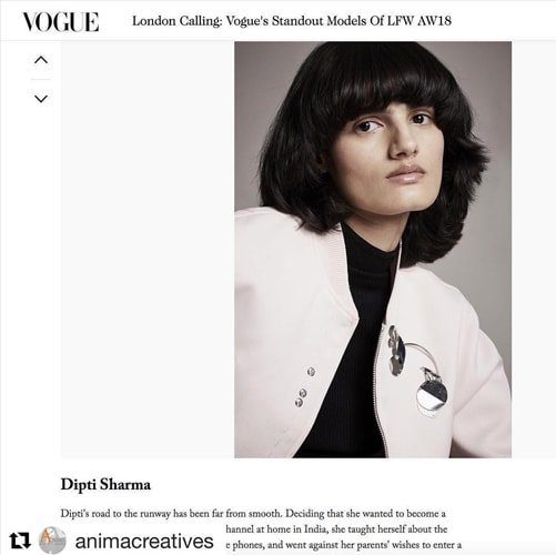 Dipti Sharma at Vogue