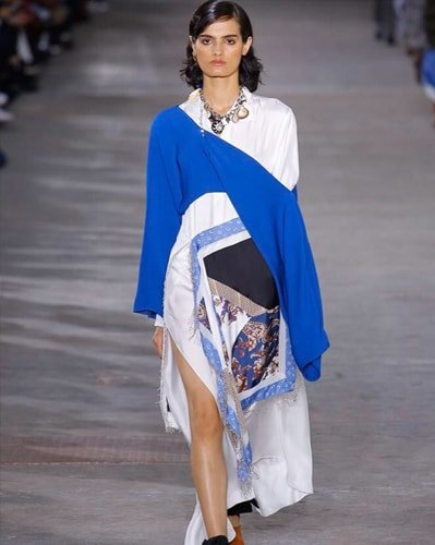 Dipti Sharma for Phillip Lim show