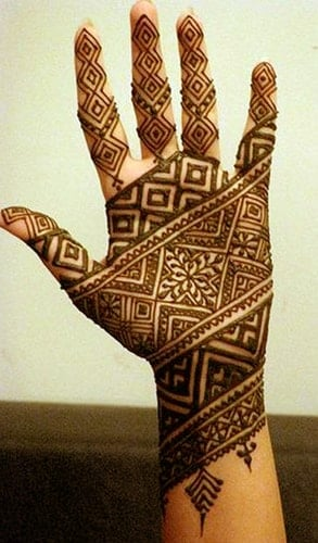 Geometric Mehndi Designs