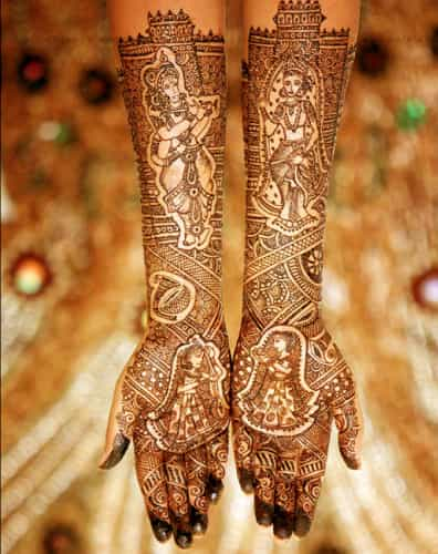 God Mehndi Designs