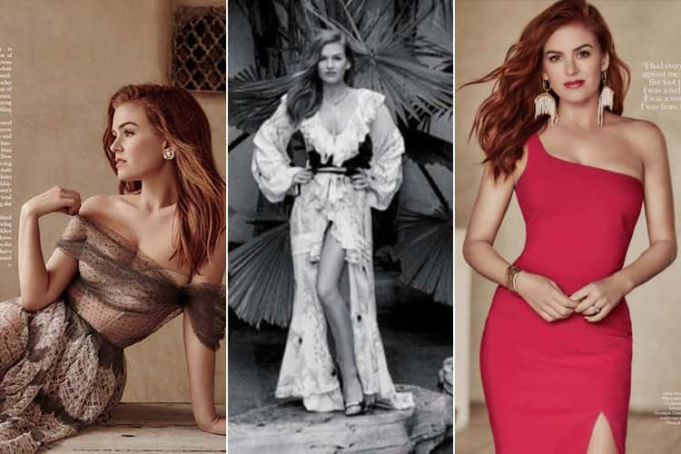 Isla Fisher for Marie Claire