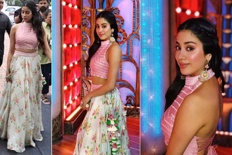 Janhvi Kapoor at Dhadak Promotions