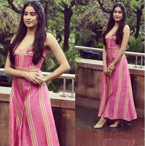 Janhvi Kapoor in Prabal Gurung Dress