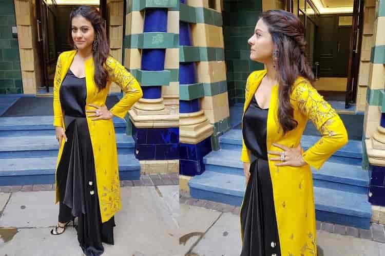 Kajol in Prathyusha Garimella label