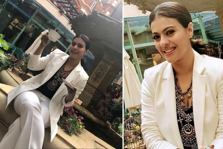 Kajol in Zara Fashion