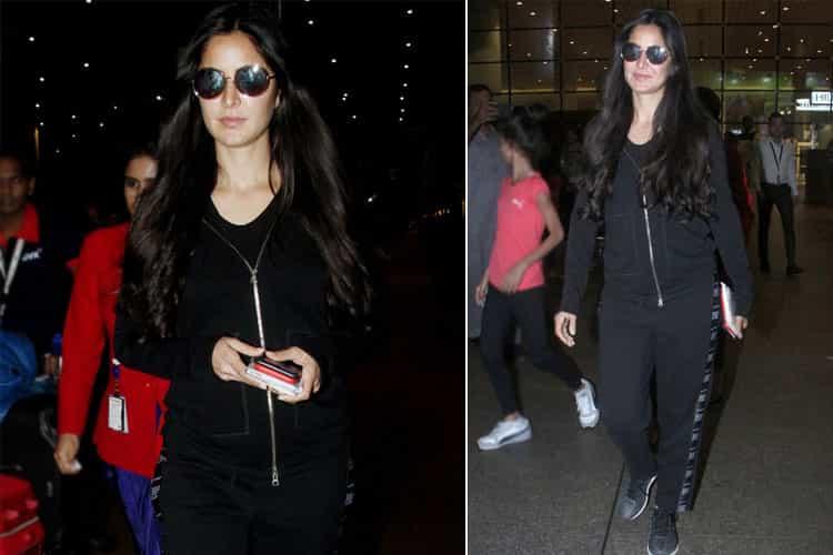 Katrina Kaif Airport Fashion