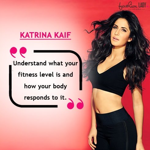Katrina Kaif Fitness Quote