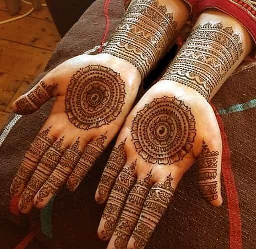 Latest Chakra Mehndi