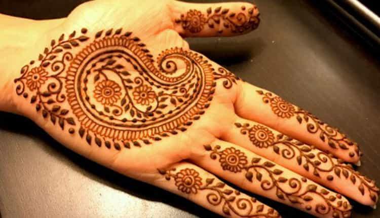 Mango Gujarati Mehndi Designs