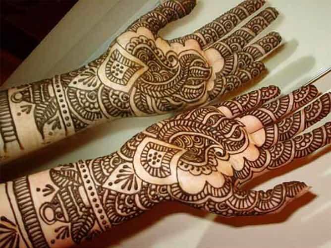 Mango Mehndi Designs