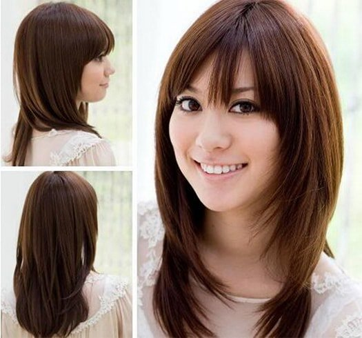 Medium Length Asian Hairstyle
