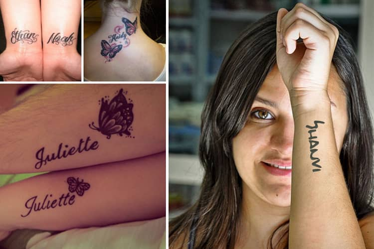 Name Tattoos To Immortalize Your Love In Style!
