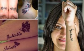 Names tattoos for trends