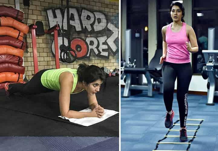 Rashi khanna Fitness