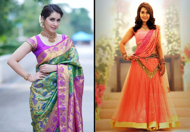 Rashi khanna in traditional look