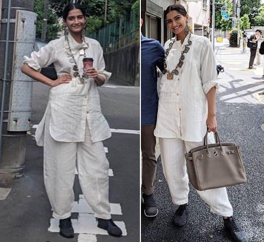 Sonam Kapoor Travel Style