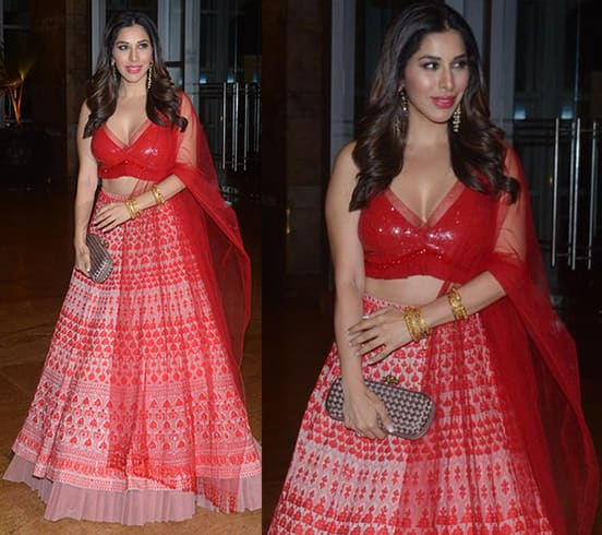 Sophie Choudry at Poorna Patel and Namit Soni Event