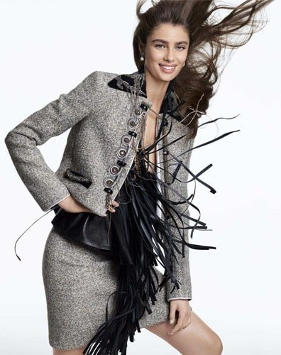 Taylor Hill Style for Elle US