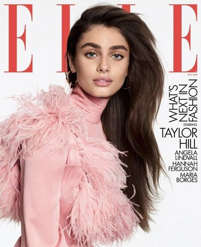 Taylor Hill for Elle US