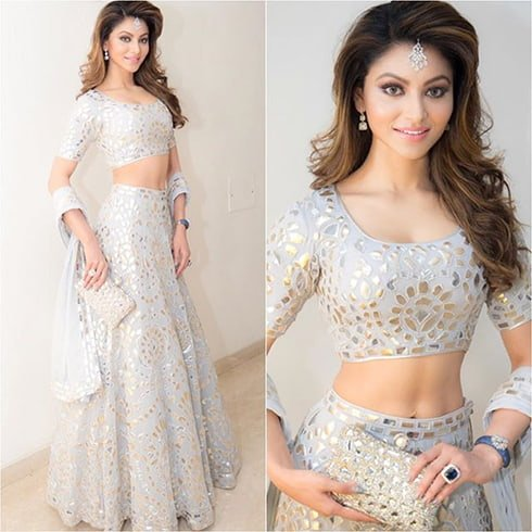 Urvashi Rautela at Poorna-Namit Wedding