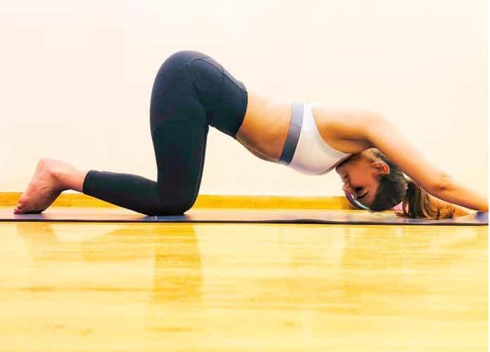 Vaani Kapoor Yoga Asana