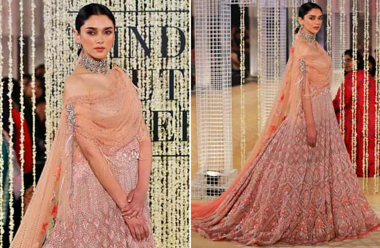 Aditi Rao Hydari For India Couture Week 2018