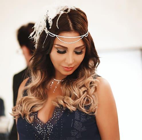 Arabian Wedding Hairstyles