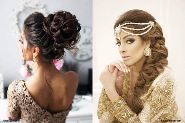 15 Wedding Hairstyles For Long Hair That Steal The Show: Top Arabic Hairstyles You Must Try In 2018 To Turn Heads