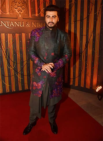 Arjun Kapoor Walks for Shantanu and Nikhil