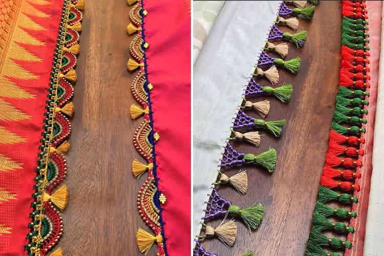 Best Saree Kuchu Designs
