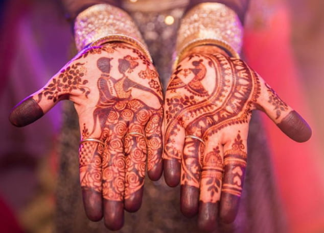 Couple Mehndi
