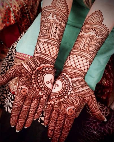 Couple Name Mehendi