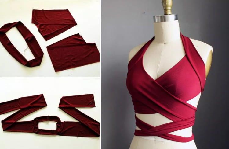 DIY Wrap Bikini