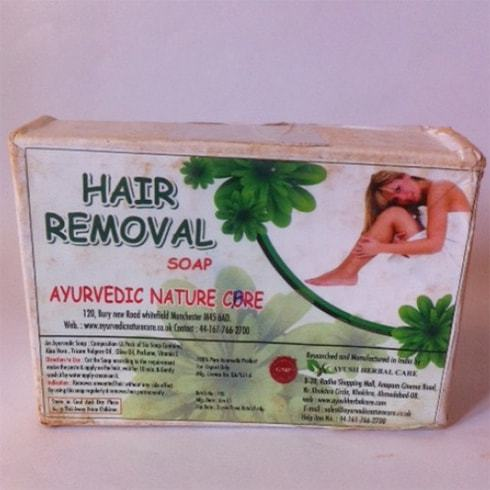 Hair Removal Soap By Ayurvedic Nature Care
