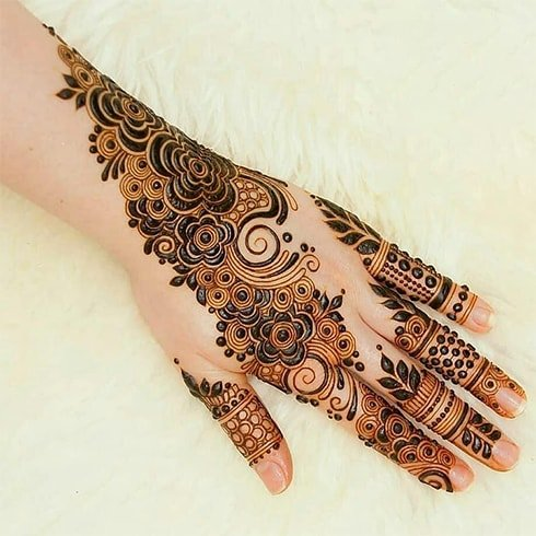 Latest Arabic Mehndi