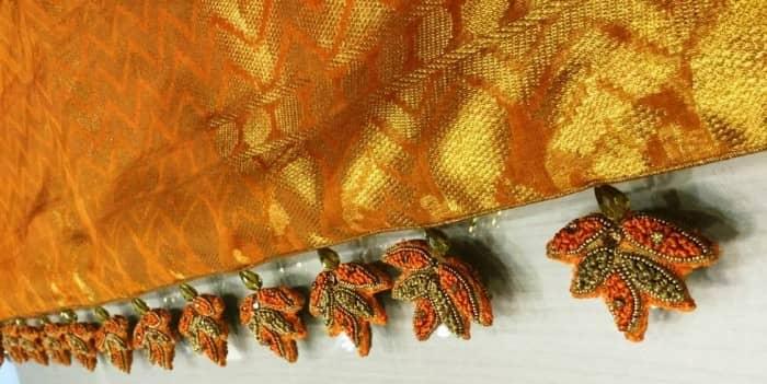 Leafy Saree Tassels