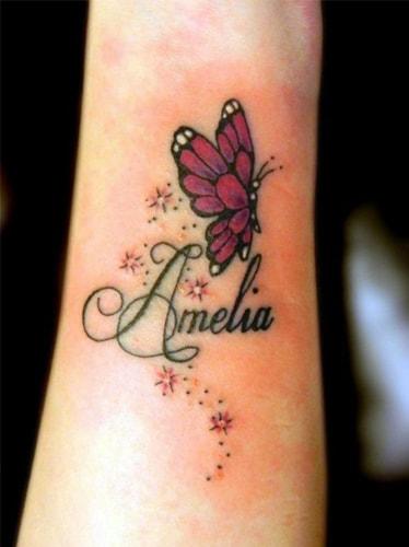 name tattoo for women
