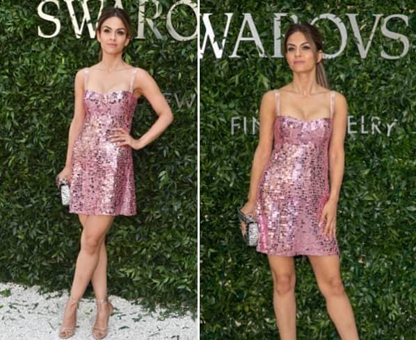 Natasha Poonawalla in Dior Mini Dress